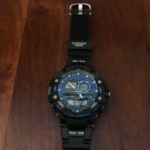 Armitron Pro Sport Dual Time Digital Watch WR 330